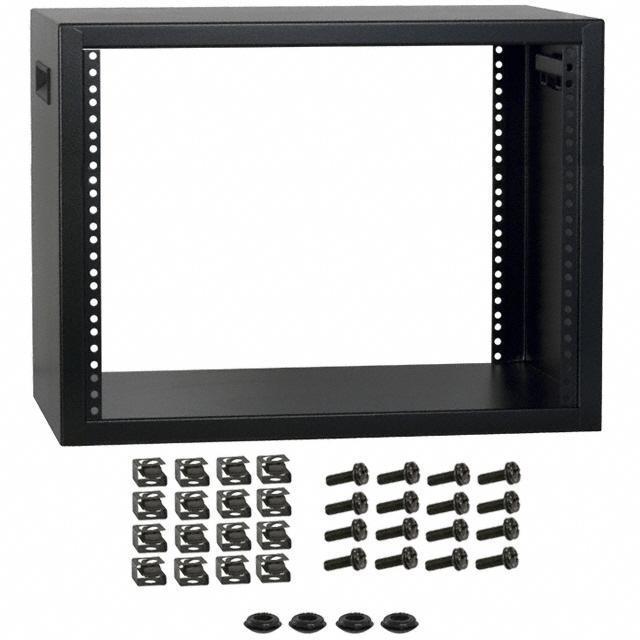 RACK STEEL 13X21X16 BLK - Hammond Manufacturing RCBS1901413BK1