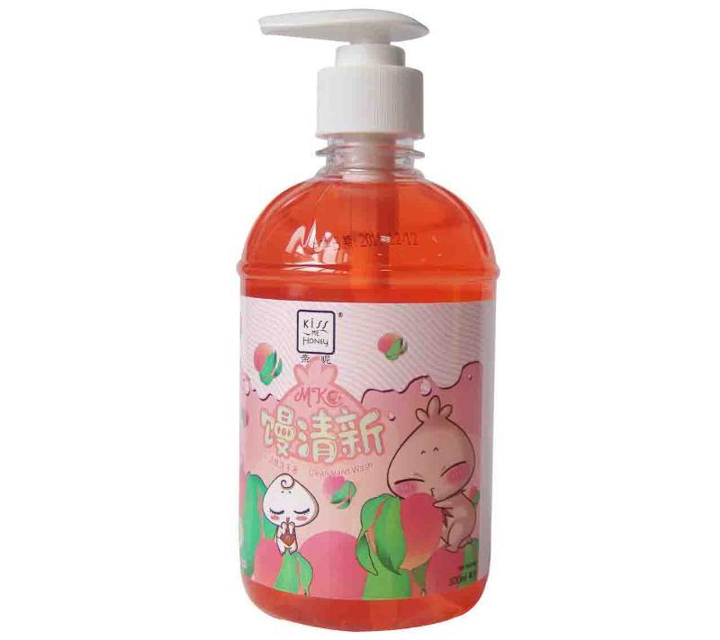 Clean Hand Wash 500ml-Honey Peach - null