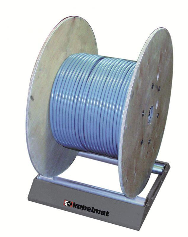 TROMBOI 500 Trommelabwickler - Abwickler für Trommeln bis Ø700 mm und Trommelgewicht 140 kg