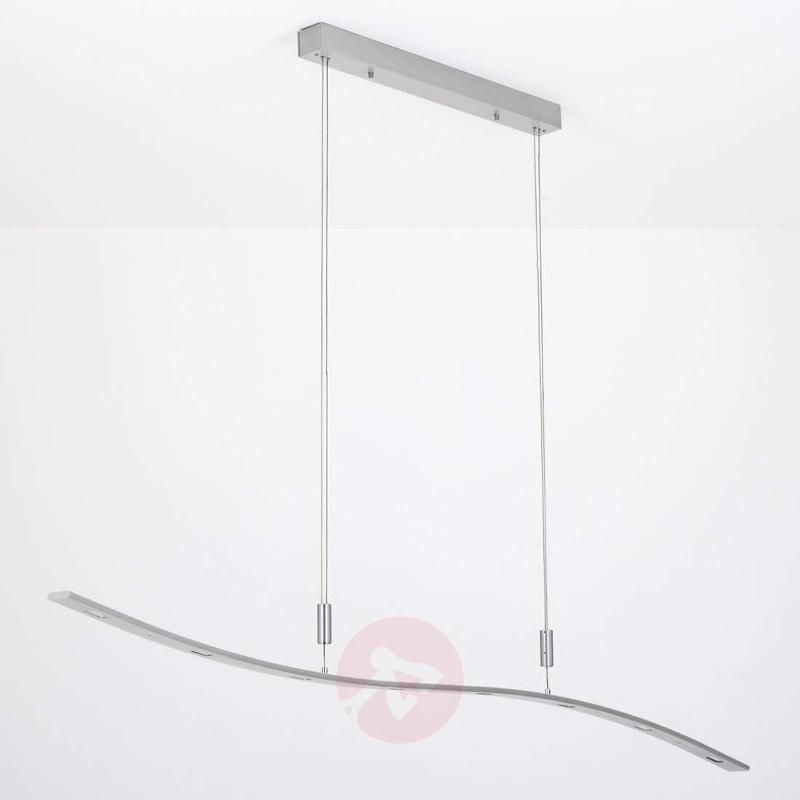 Xalu - height-adjustable LED pendant lamp, 160 cm - Pendant Lighting