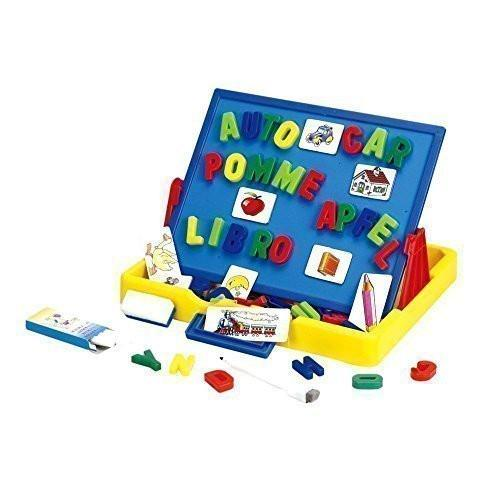 Tabletop Easel Board - Wishtime Deluxe Magnetic Letters Tabletop