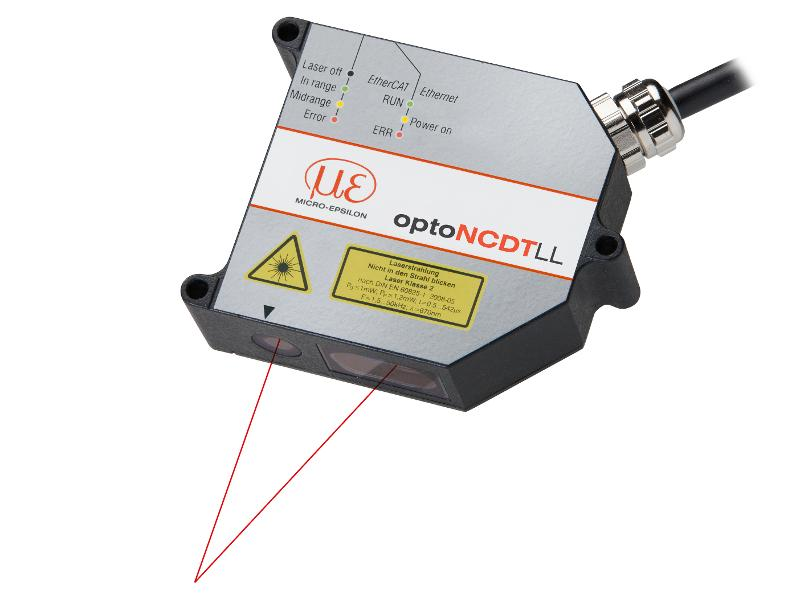Extreme dynamic laser sensor for lustrous metallic and... - optoNCDT 2300LL