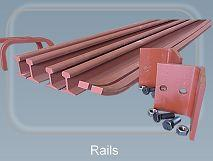Rails - Conveyor chains and components