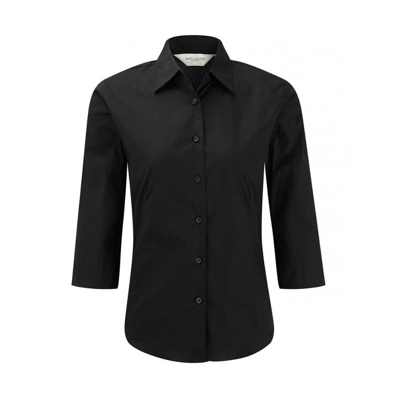 Chemise manches 3/4 - Femme