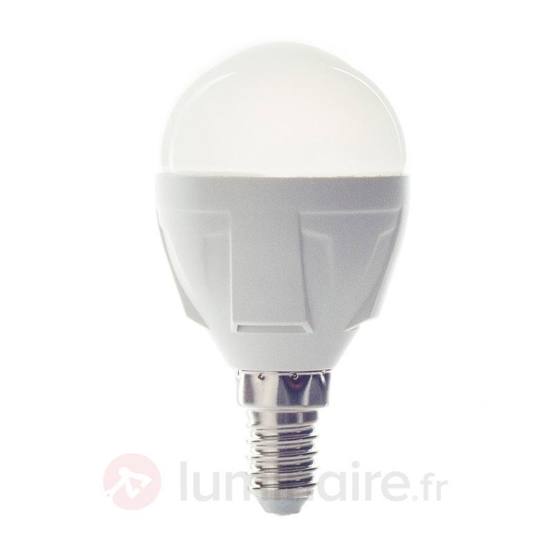 Lampe LED goutte E14 6W 830 blanc chaud - Ampoules LED E14