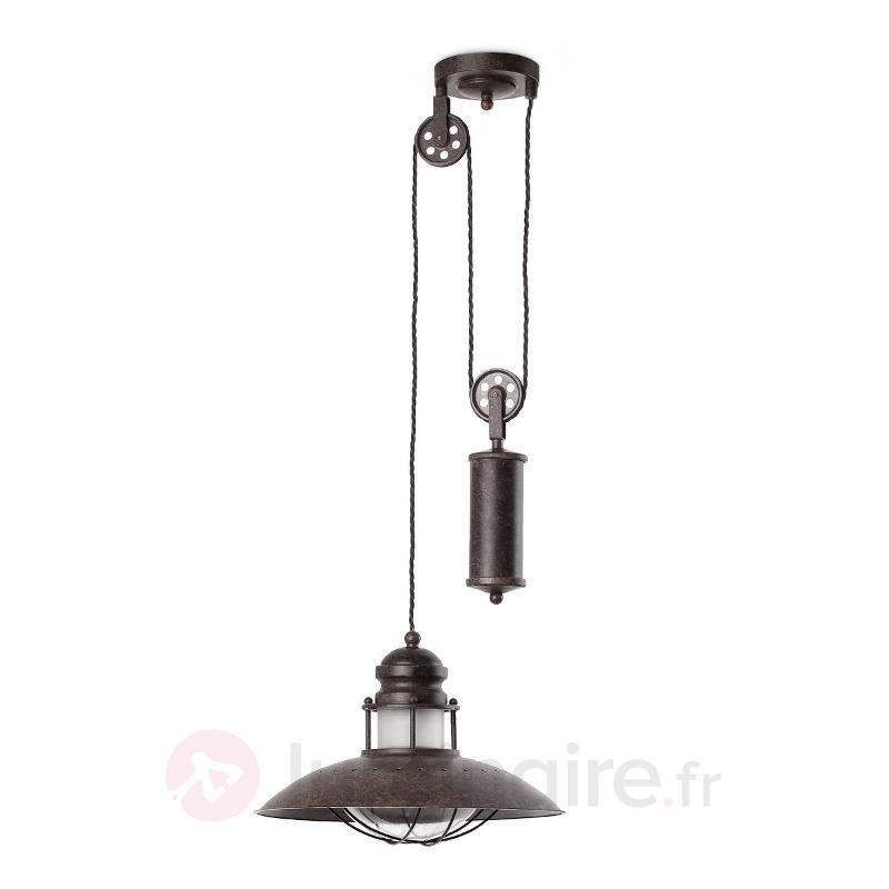 Suspension Winch réglable en hauteur - Suspensions rustiques