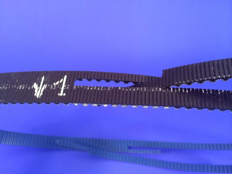 Power transmission belt with mechanical assembly - Poly Chain® GT Carbon™ ERO Joint® Ultimate