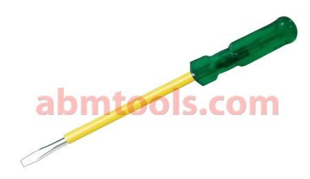 Screw Drivers - Electrician Pattern - Designed with insulated handles to protect against shock up to 1000 volts.