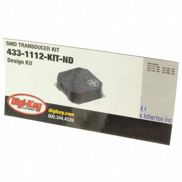 SMD TRANSDUCER KIT - Soberton Inc. 433-1112-KIT