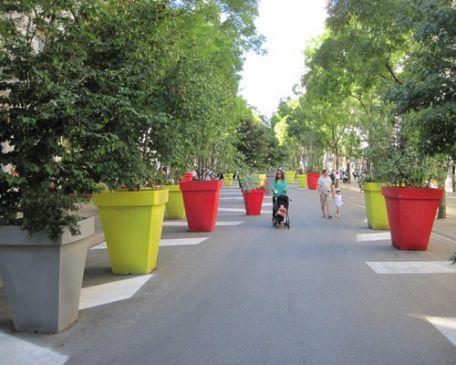 Pot Décoratif Carré - Espaces Verts