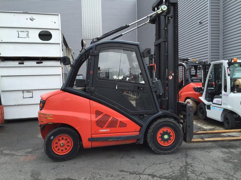 Chariot élévateur diesel Fenwick H50D - Matériels d'occasion