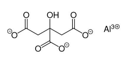 Алюминия цитрат  - CAS: 31142-56-0