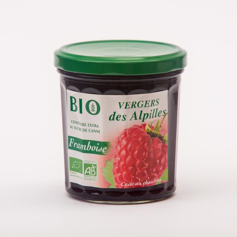 Vergers BIO - Framboise - Confitures Biologiques au sucre de canne