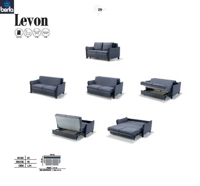 Sovekabine sofa Levon - Søvn sofa producenter