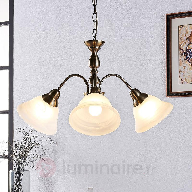 Lampe ancienne produits for Suspension trois lampes