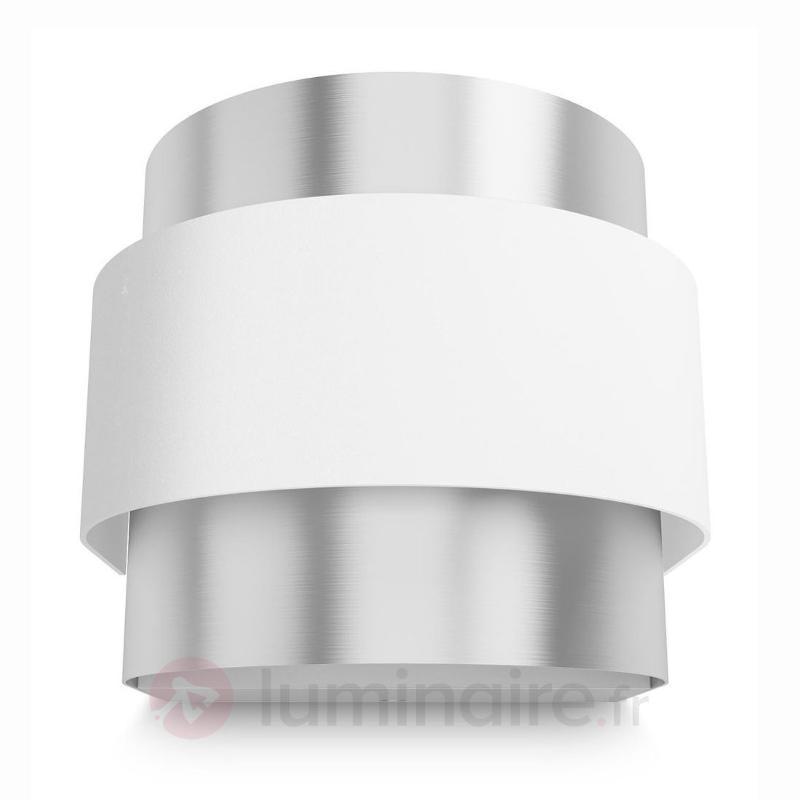 Belle applique LED Drava moderne - Appliques chromées/nickel/inox