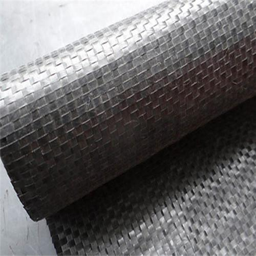 Géotextile tissé en soie plate en polypropylène 200gsm