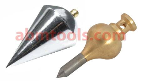 Plumb Bobs - With Guide and Rope - t is essentially the vertical equivalent of a water level.