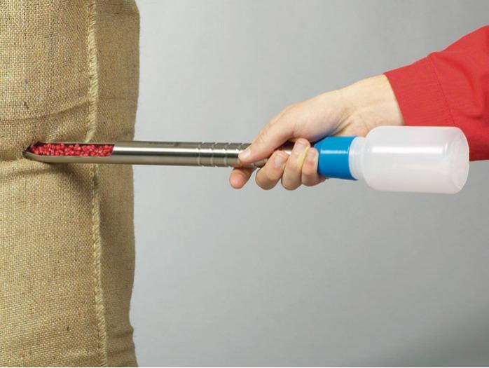 QuickPicker - Muestreador para productos a granel, acero inoxidable