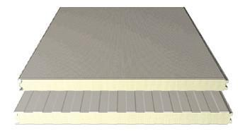 Composite sandwich panels for walls - Sandwich panels wall with open fixing joints
