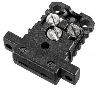 Miniature case type J, black - Thermocouple connectors