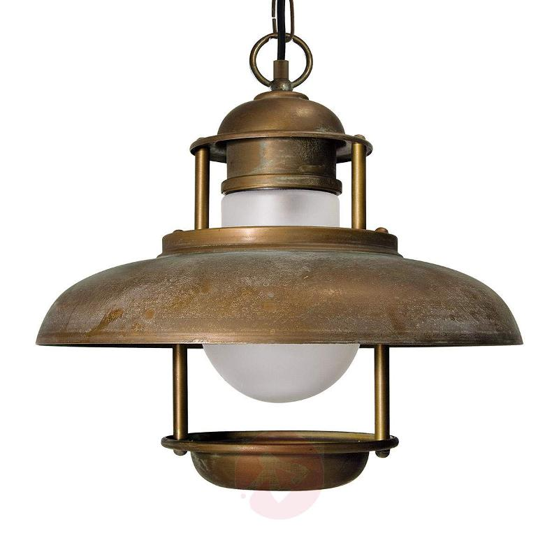 Seawater-resistant outdoor hanging light Salina - Outdoor Pendant Lighting