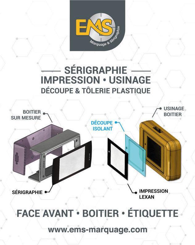 EMS Marquage et Sérigraphie - Impression, découpe et usinage industriel dans le 76