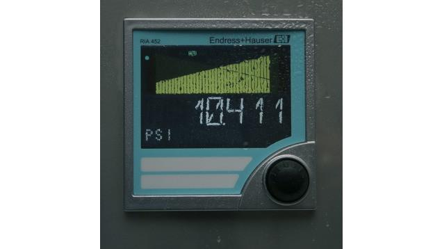 RIA452 Process indicator with pump control -