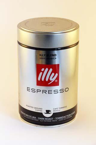 Illy Espresso Dark 250gr -