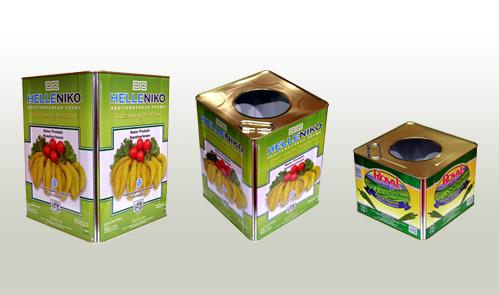 Sanitary Tin cans for food