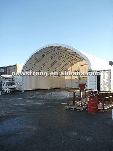 Trussed Frame 40'Container Shelter - null