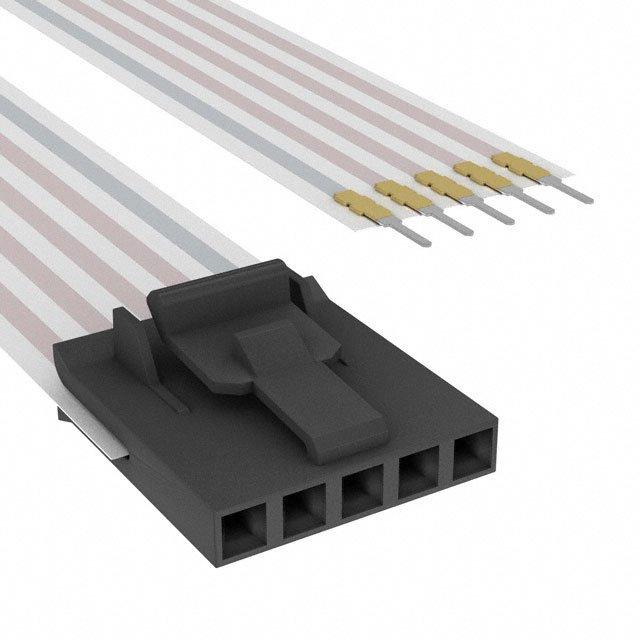 FLEX CABLE - AFK05A/AE05/AFH05T - TE Connectivity AMP Connectors A9CAA-0506E