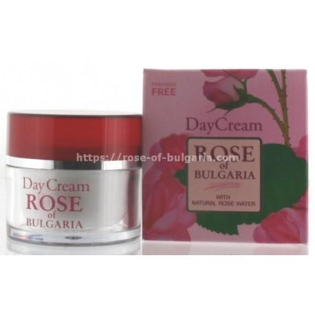 Crème de jour à l'eau de rose - Soin visage pour Femme