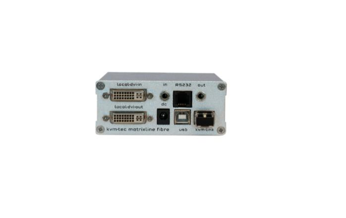 MATRIXline single in fiber local - MATRIXline 2000 Full HD KVM Extender over IP