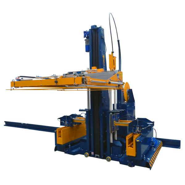 2914 Horizontal automatic strapping machine with mobile base