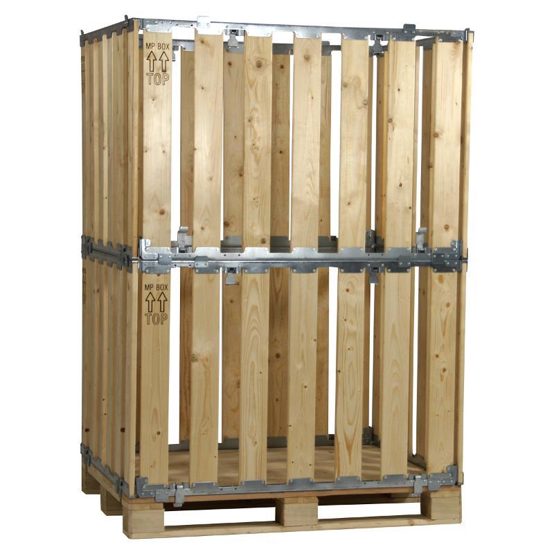 Faltbare Begehbare Groß-Behälter (160.A) - MPB.b160.A