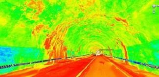 3D laser scanning of tunnel
