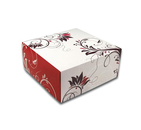 Kuchenkartons und Trays