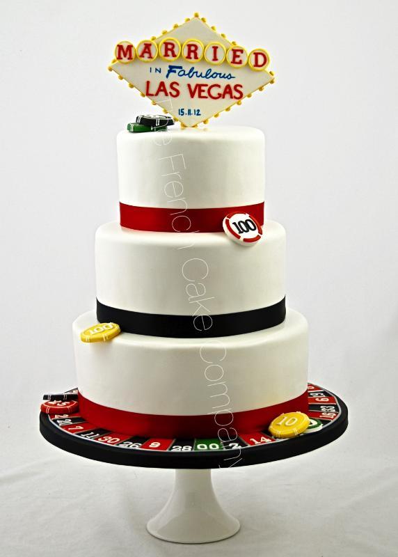 Gâteaux et Pièces Montées sur-mesure - Gâteau thème Las Vegas
