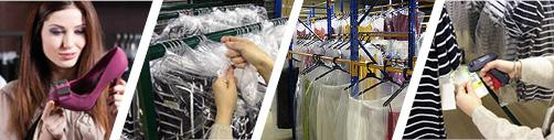 Fashion Logistics - Services - specialities