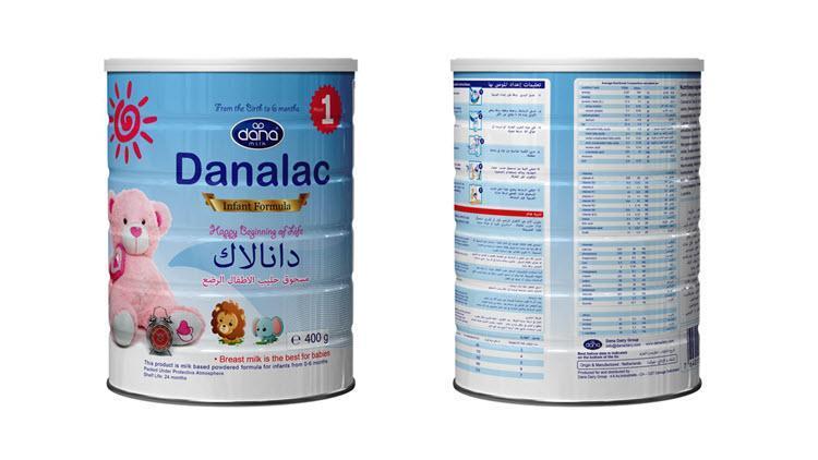 DANALAC嬰幼兒配方奶粉 - 第一段:嬰幼兒配方奶粉;第二段:嬰幼兒后續配方食品;第三段:成長配方奶粉