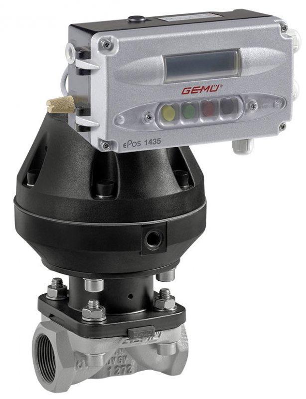 GEMÜ 620 - Válvula de diafragma de acionamento pneumático