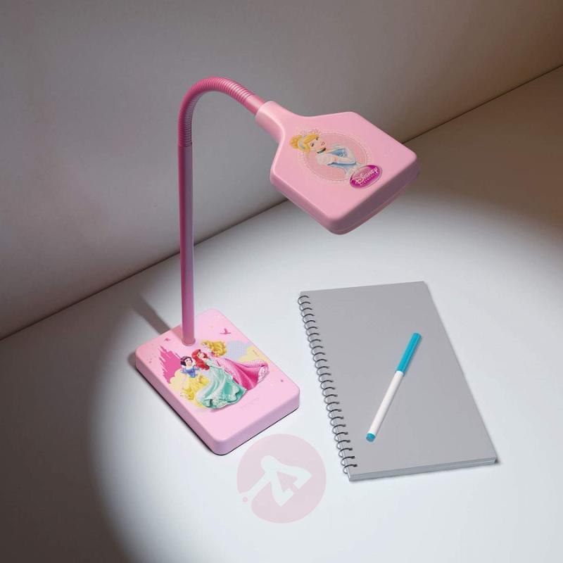 Pink Princess children's desk lamp with LED - indoor-lighting