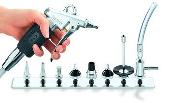 Dina Cleaning Gun with Profi Set - Water / pressured air rinsing gun for medical instruments compareable to Selecta
