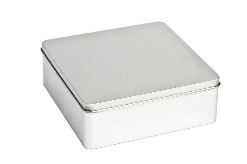 square tin boxes