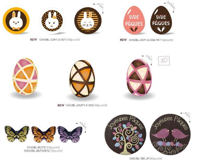 Chocolate products - Decoration items