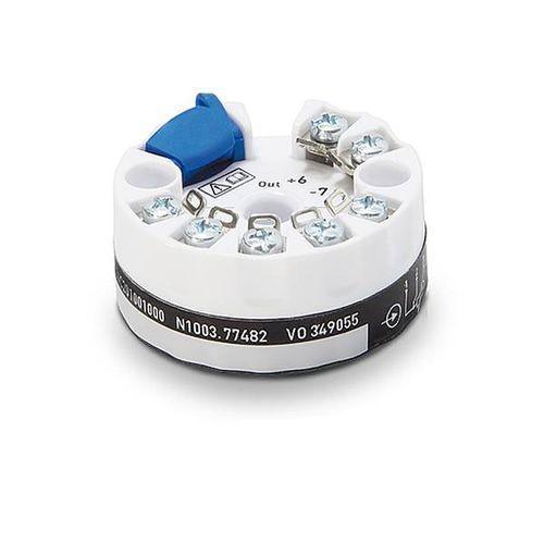 OPTITEMP TT 20 - Probe head-mounted temperature transmitter / resistance / analog / programmable