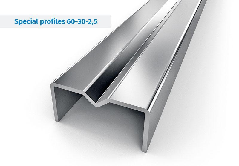Stahlprofile für Gerüstproduktion, Rahmengerüste - Stahlprofile zur Produktion von Rahmen- und Modulgerüsten