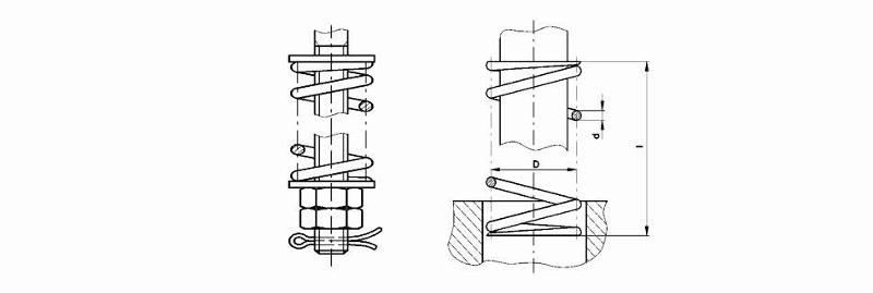 Damping materials - Pressure Springs (special designs)