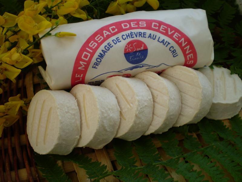 Moissac des Cévennes x 6 sous papier sulfurisé - Produits laitiers